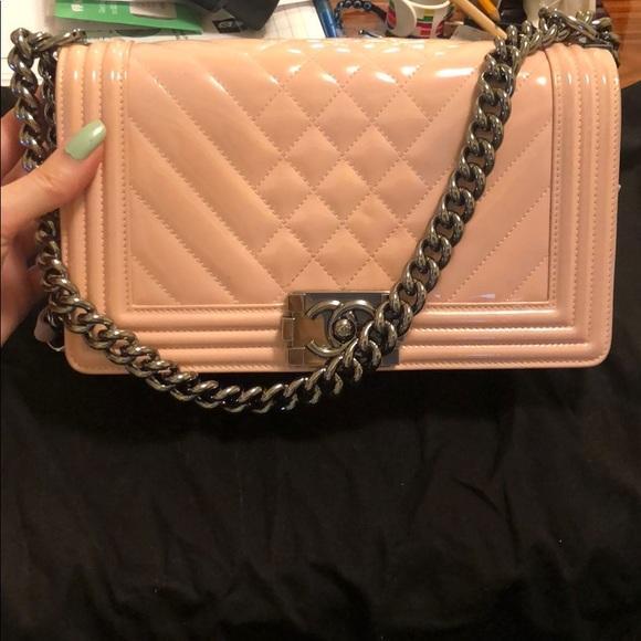 06740bd7042 CHANEL Handbags - Chanel Medium Boy Bag